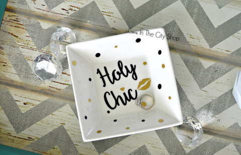 Holy Chic Jewelry Dish - love-in-the-city-shop