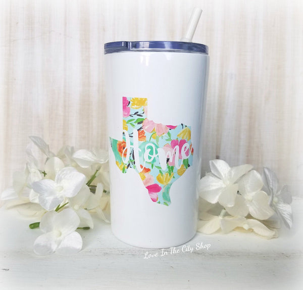 State Metal Tumbler (Mini Tumbler) - love-in-the-city-shop