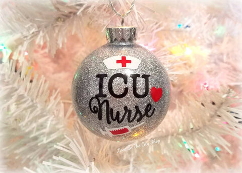 ICU Nurse Ornament - love-in-the-city-shop