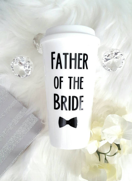 Father of the Bride Travel Mug - love-in-the-city-shop