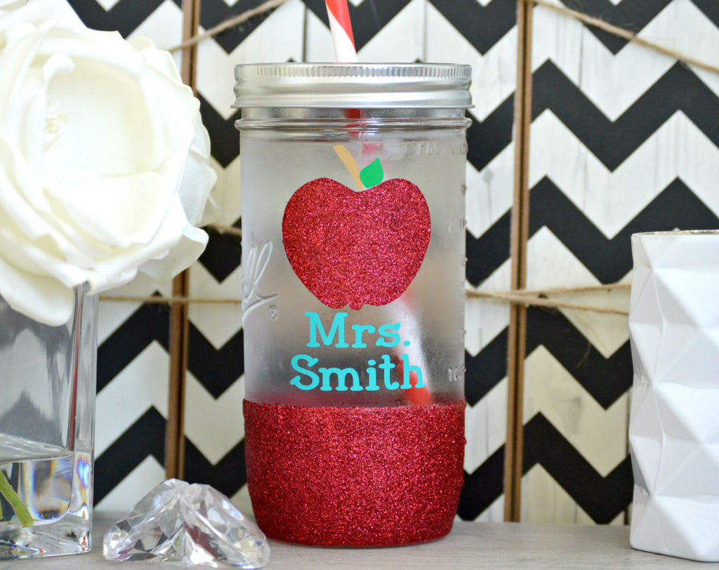 Teacher Tumbler (Glass Tumbler) - love-in-the-city-shop
