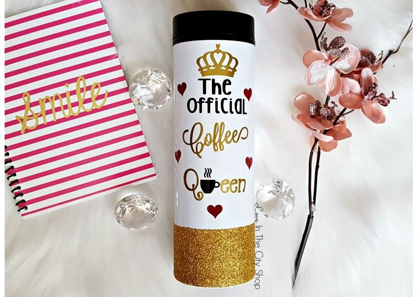 Coffee Queen Mug (Travel Tumbler) - love-in-the-city-shop