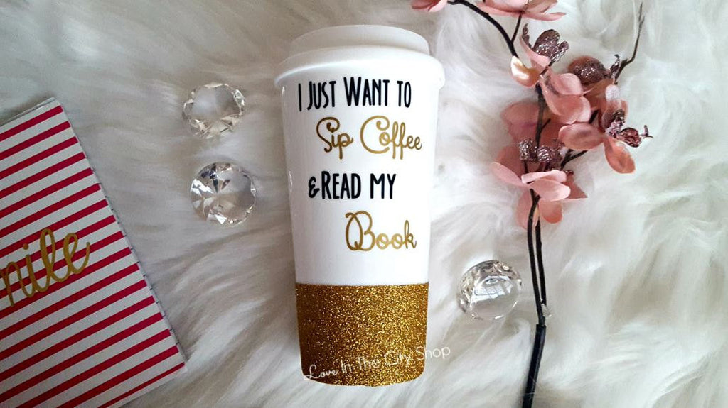Book Lover Travel Mug - love-in-the-city-shop