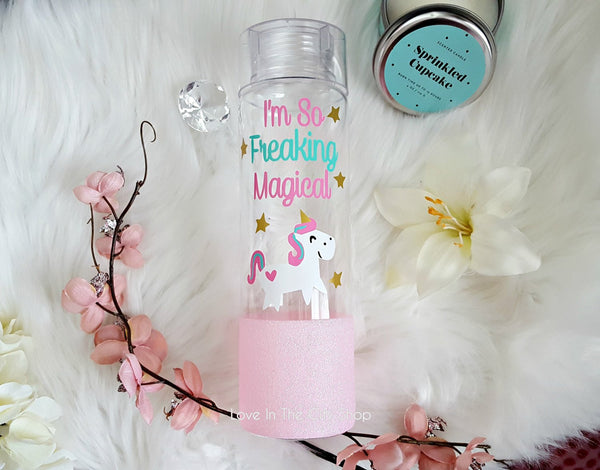 I'm So Freaking Magical Unicorn Water Bottle - love-in-the-city-shop