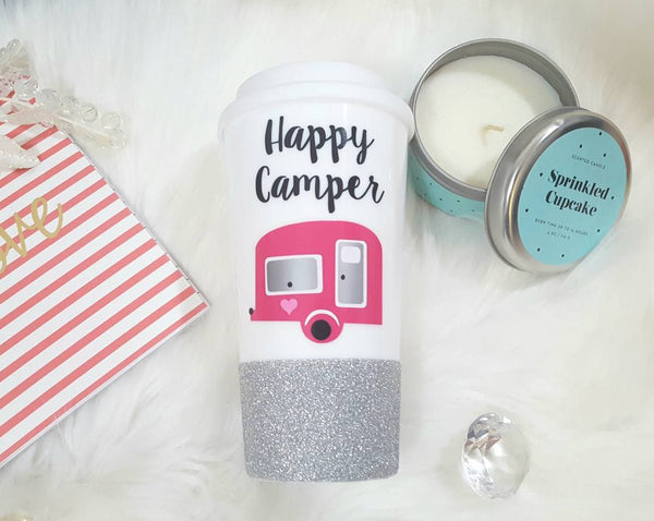 Happy Camper Travel Mug - love-in-the-city-shop