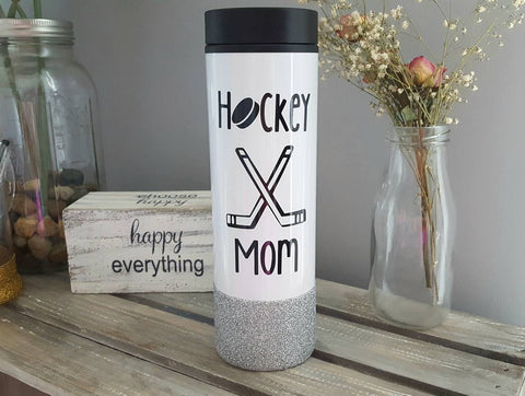 Hockey Mom Travel Tumbler - love-in-the-city-shop