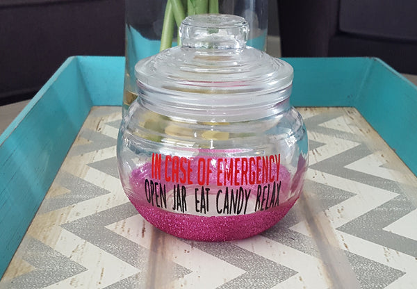 Funny Candy Jar - love-in-the-city-shop