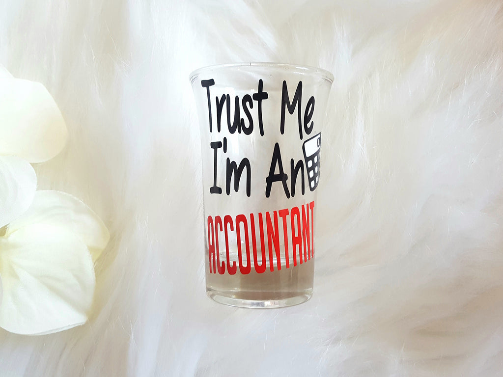 Accountant Shot Glass - love-in-the-city-shop