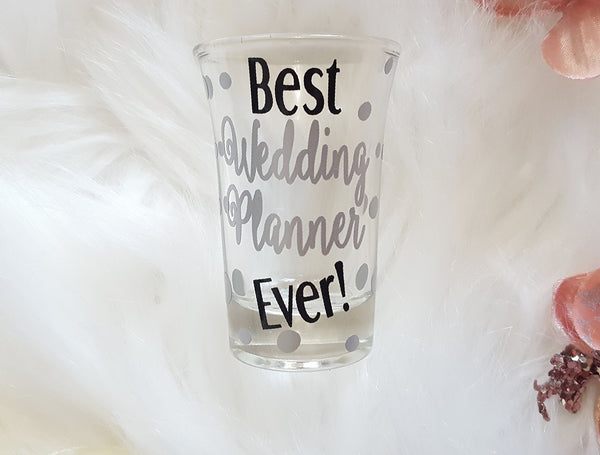 Wedding Planner Shot Glass - love-in-the-city-shop