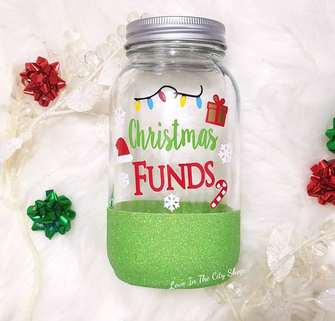 Christmas Funds Bank - love-in-the-city-shop