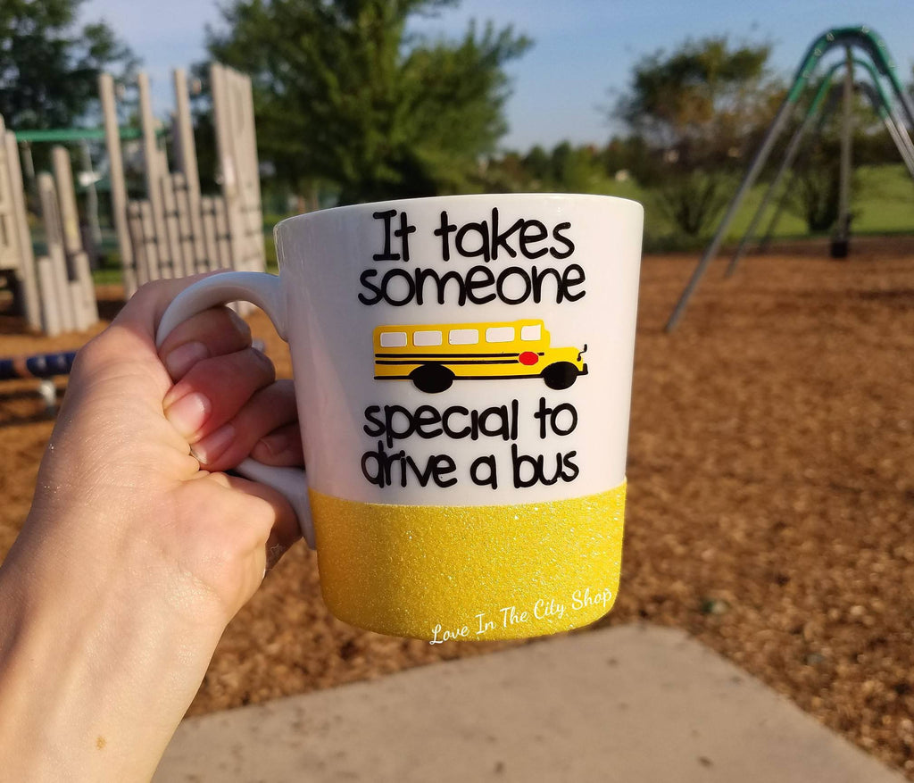 It takes someone Special to Drive a Bus - Bus Driver Mug - love-in-the-city-shop