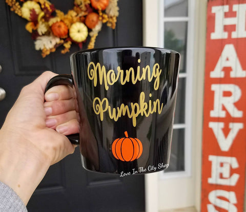 Good Morning Pumpkin Coffee Mug - love-in-the-city-shop