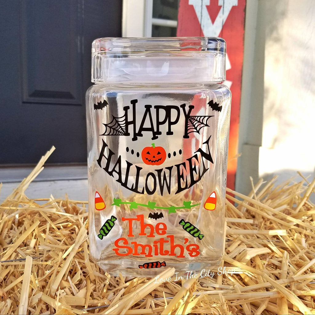 Halloween Cookie Jar - love-in-the-city-shop