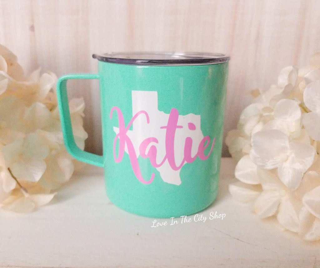 State Metal Mug - love-in-the-city-shop
