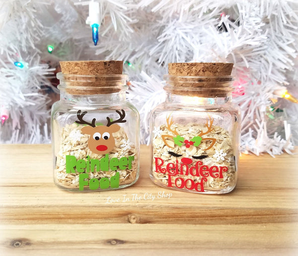 Reindeer Food Jar - love-in-the-city-shop