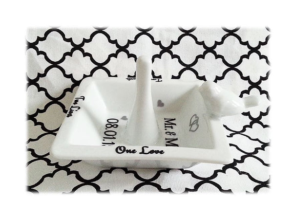 Wedding Ring Holder - love-in-the-city-shop