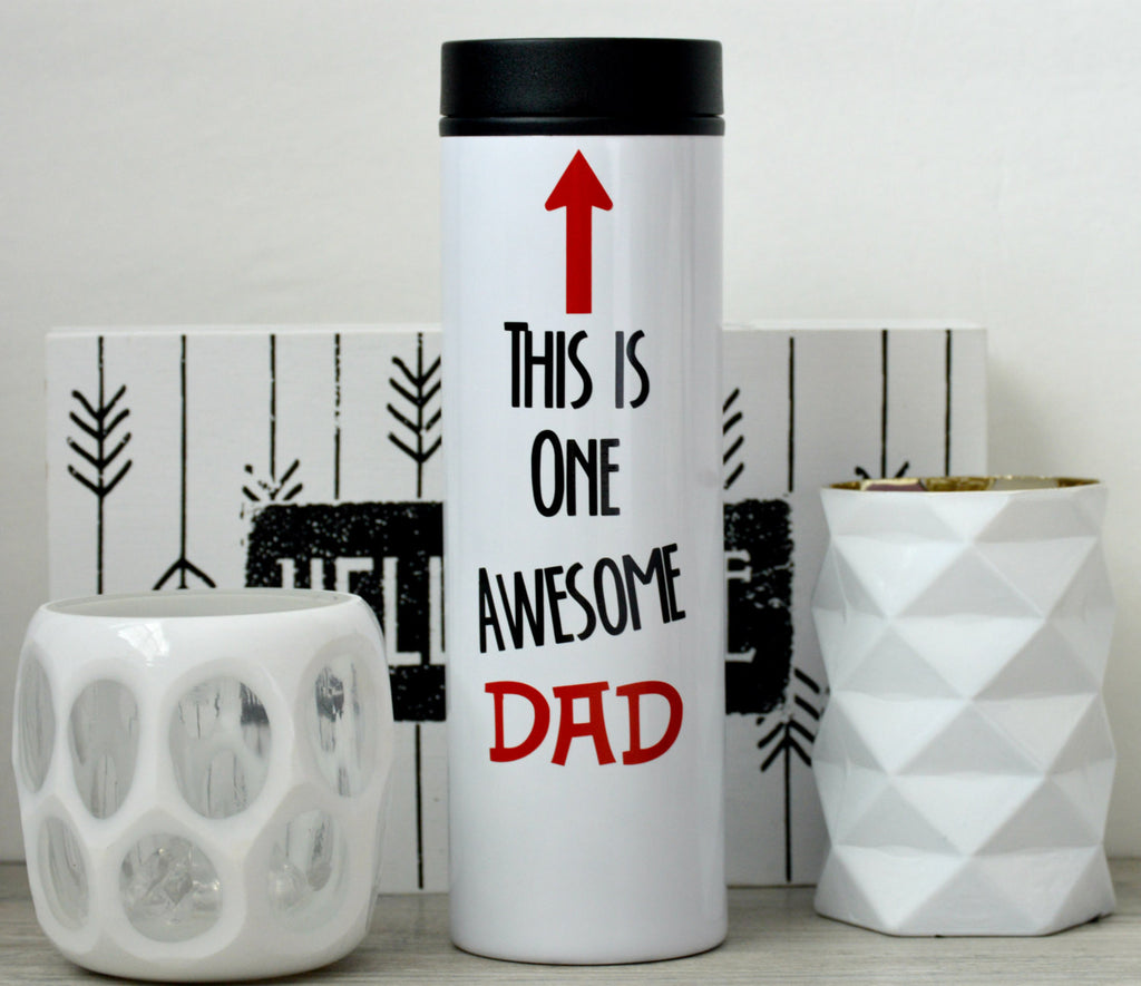 Awesome Dad Travel Tumbler - love-in-the-city-shop