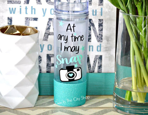 Photographer Water Bottle - love-in-the-city-shop