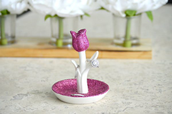 Flower Ring Holder - love-in-the-city-shop