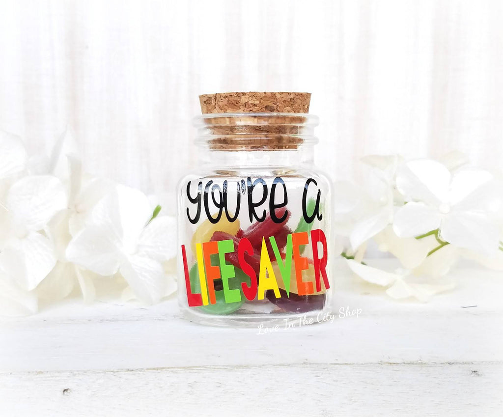 You're a Lifesaver Jar - love-in-the-city-shop