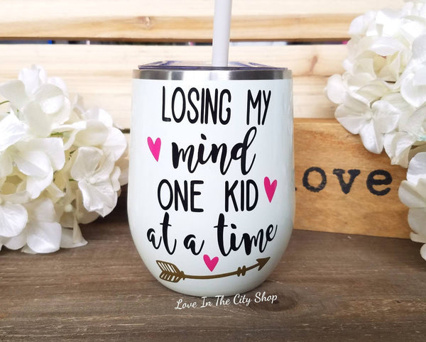 Funny Parenting Wine Tumbler - love-in-the-city-shop