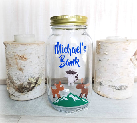 Woodland Animal Bank - love-in-the-city-shop