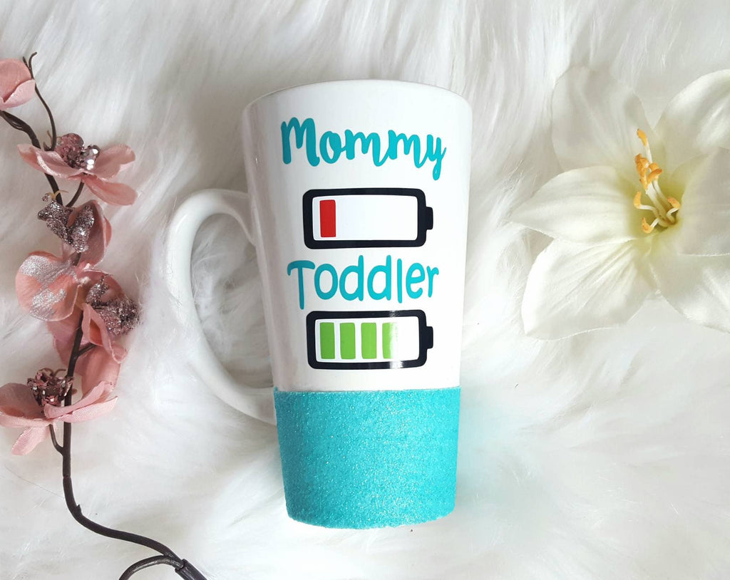 Mommy and Toddler Latte Mug - love-in-the-city-shop