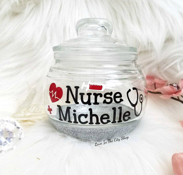 Nurse Candy Jar - love-in-the-city-shop