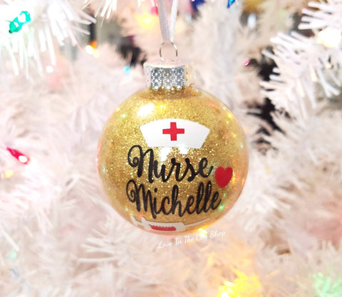 Nurse Ornament - love-in-the-city-shop