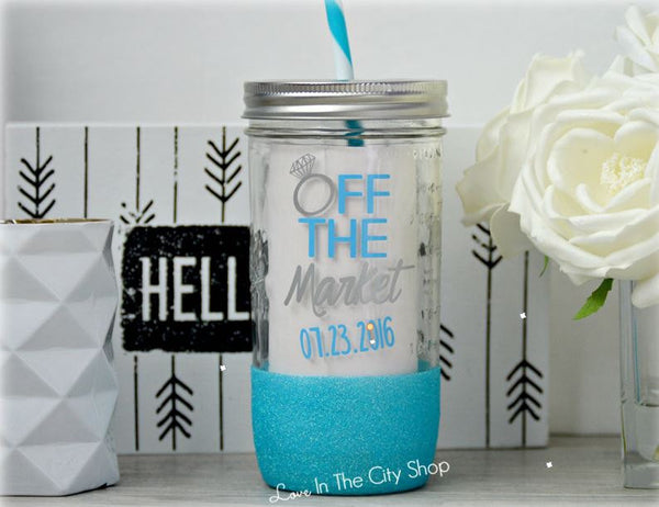 OFF The market Tumbler (Glass) - love-in-the-city-shop