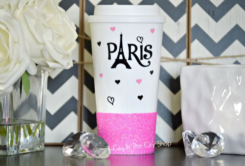 Paris Travel Mug - love-in-the-city-shop