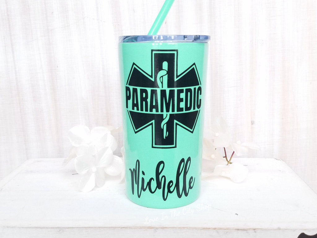 Paramedic Metal Tumbler (Mini Tumbler) - love-in-the-city-shop