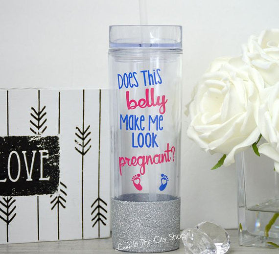 Pregnant Water Bottle - love-in-the-city-shop