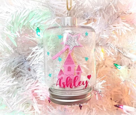 Princess Snow Globe Ornament - love-in-the-city-shop