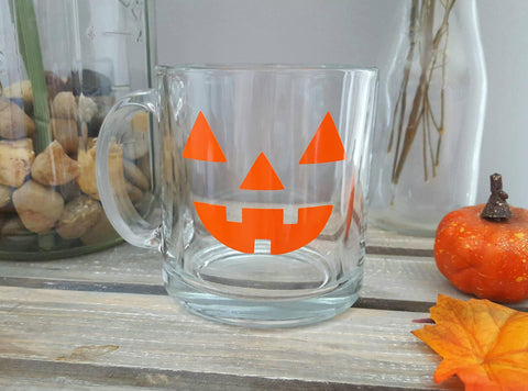 Pumpkin Glass Coffee Mug - love-in-the-city-shop