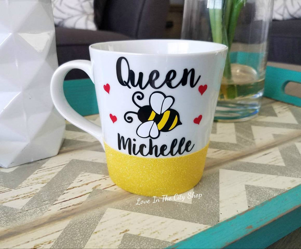 Queen Bee Mug - love-in-the-city-shop