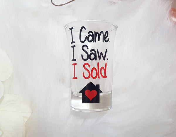 Realtor Shot Glass - love-in-the-city-shop