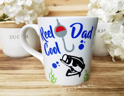 Fishing Dad Coffee Mug - love-in-the-city-shop