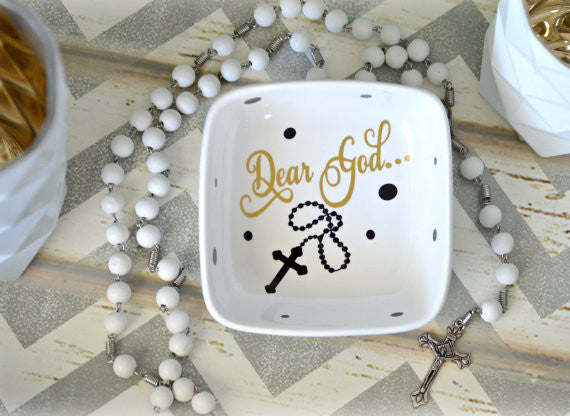 Rosary Holder Dish - love-in-the-city-shop