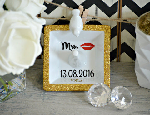 Bride to Be Ring Dish / Bird Ring Holder - love-in-the-city-shop