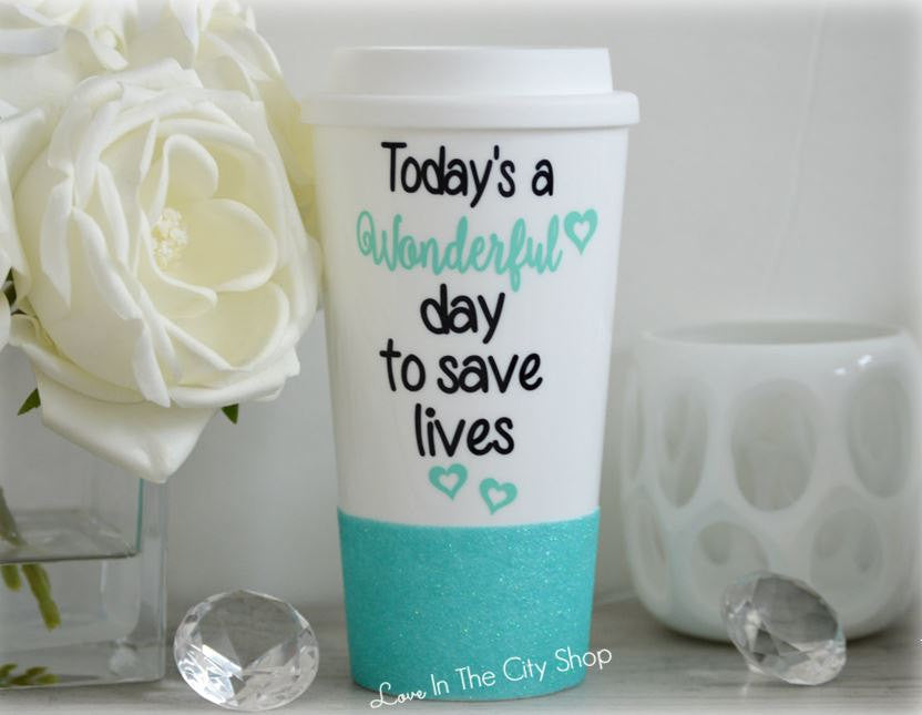 Save Lives - You're My Person Travel Mug - love-in-the-city-shop