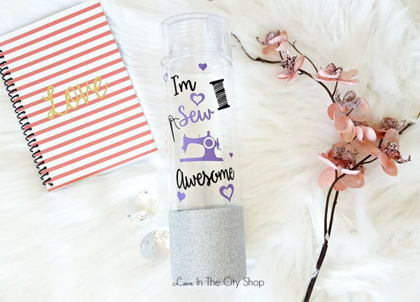 Sewing Water Bottle - love-in-the-city-shop