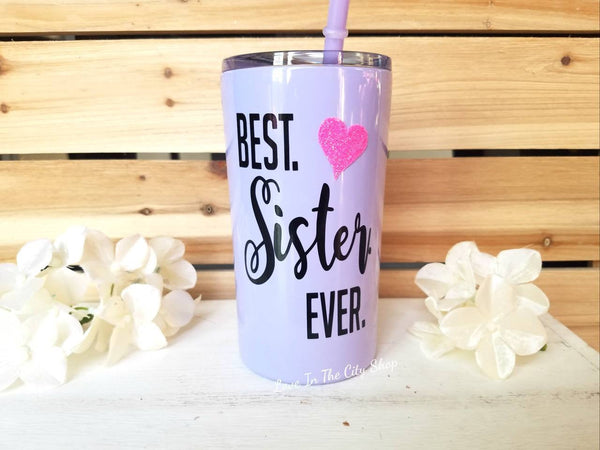 Best Sister Metal Tumbler (Mini Tumbler) - love-in-the-city-shop