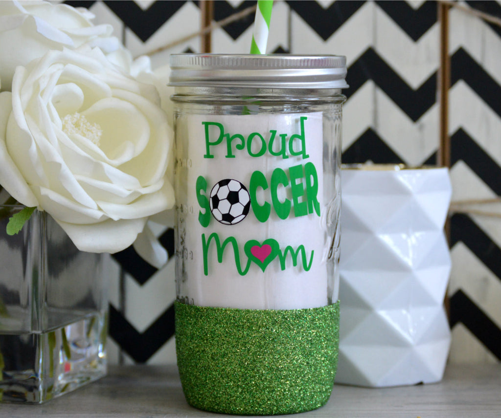 Soccer Mom Tumbler (Glass) - love-in-the-city-shop