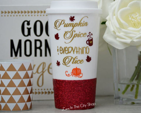 Pumpkin Spice Travel Mug - love-in-the-city-shop