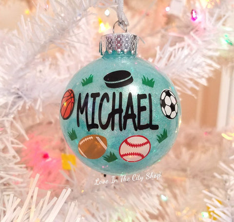 Sports Ornament - love-in-the-city-shop