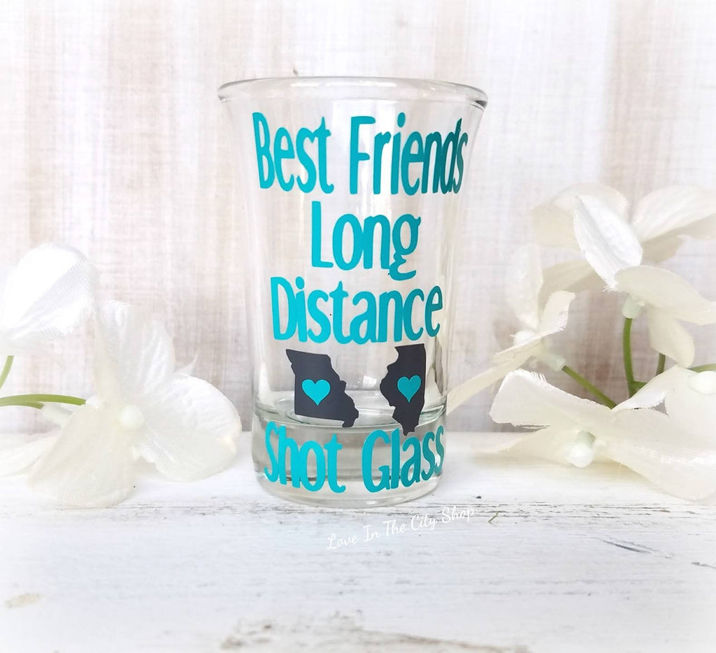 Friendship State Shot Glass - love-in-the-city-shop