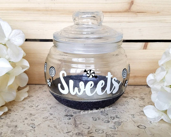 Sweets Candy Jar - love-in-the-city-shop