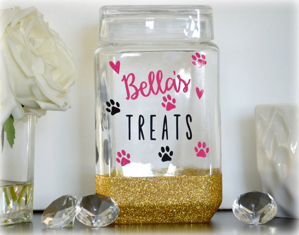 Dog Treat Jar - love-in-the-city-shop