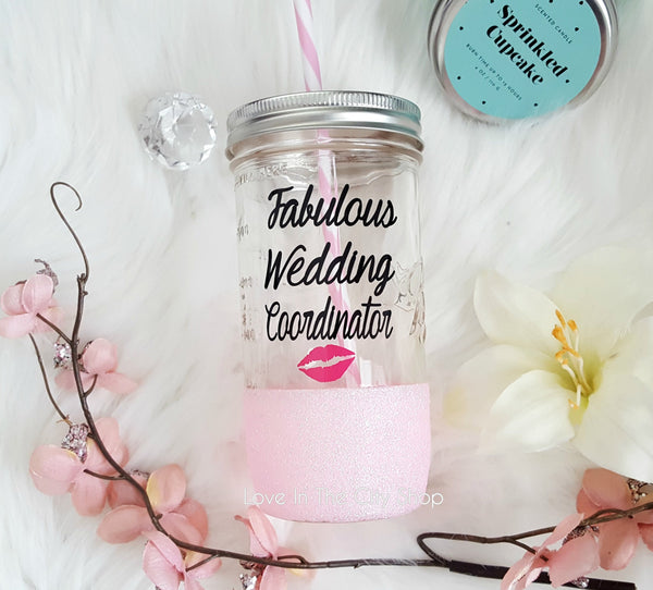 Wedding Coordinator Tumbler (Glass Tumbler) - love-in-the-city-shop